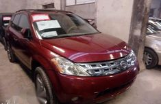 Red 2003 Nissan Murano automatic for sale at price ₦550,000 in Ikeja