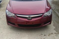Clean and neat red 2008 Honda Civic
