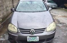 Selling grey 2008 Volkswagen Golf at cheap price