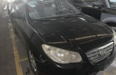 Sell cheap black 2008 Hyundai Elantra automatic in Ikeja