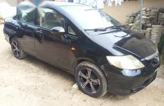 Best priced black 2006 Honda City in Uyo