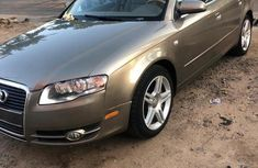 Best priced used gold 2006 Audi A4 automatic in Ikeja