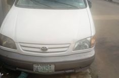 Nigerian Used 2002 Toyota Sienna for Sale White Colour