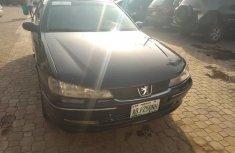 Black 2008 Peugeot 406 manual for sale at price ₦850,000 in Abuja