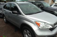 Best priced used grey 2009 Honda CR-V automatic in Lagos