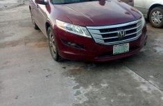 Used red 2012 Honda Accord CrossTour sedan at mileage 1,012 for sale