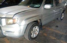 Sell grey 2007 Honda Ridgeline pickup automatic at cheap price