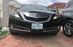 Clean and neat black 2010 Acura ZDX for sale