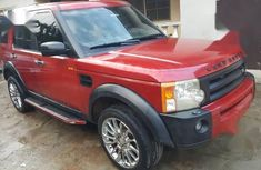 Red 2006 Land Rover LR3 automatic for sale in Ikeja