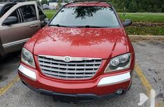 Sharp used red 2004 Chrysler Pacifica hatchback car at attractive price