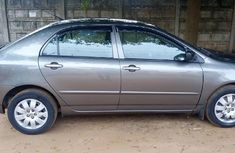 Grey 2008 Toyota Corolla car sedan automatic in Ikeja