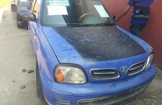 Clean blue 2002 Nissan Micra manual car at attractive price