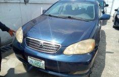 Sell blue 2005 Toyota Corolla automatic
