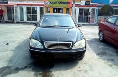 Used 2001 Mercedes-Benz S-Class automatic at mileage 121,023 for sale in Ikeja