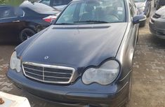 Sell grey 2002 Mercedes-Benz C180 automatic at mileage 97,000 in Lagos