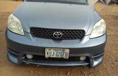 Need to sell high quality blue 2005 Toyota Matrix automatic at price ₦1,200,000
