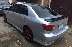 Sell cheap grey 2002 Toyota Corolla automatic