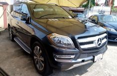 Well maintained black 2014 Mercedes-Benz GL-Class automatic for sale in Lagos