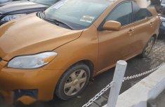 Toyota Matrix 2009 Orange color for sale