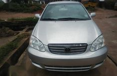 Need to sell high quality grey/silver 2003 Toyota Corolla automatic in Lagos