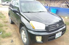 Toyota RAV4 2001 Black for sale