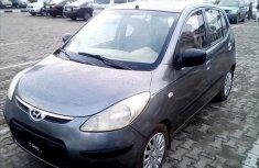 Used grey 2008 Hyundai i10 car manual at attractive price