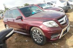 Used red 2012 Mercedes-Benz GLK-Class automatic car at attractive price