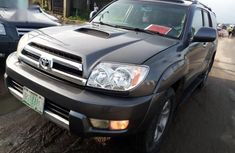 Selling grey 2004 Toyota 4-Runner suv automatic in Port Harcourt