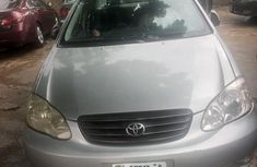 Best priced grey 2003 Toyota Corolla automatic in Ikeja