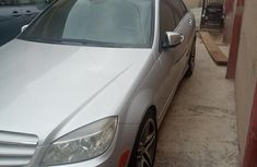 Very sharp neat grey 2009 Mercedes-Benz C300 for sale in Ikeja