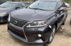 Sell grey/silver 2014 Lexus RX automatic at price ₦5,800,000