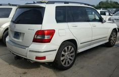 Used white 2010 Mercedes-Benz GLK-Class suv for sale at price ₦5,600,000