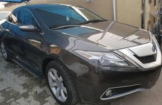 Need to sell high quality 2012 Acura ZDX at price ₦7,200,000