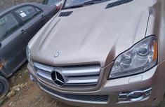 Gold 2007 Mercedes-Benz GL-Class car at mileage 90,000 at attractive price