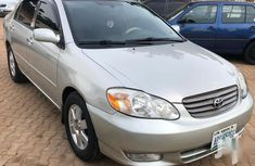 Sell well kept grey 2004 Toyota Corolla automatic in Kaduna
