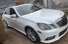 Used 2013 Mercedes-Benz E550 car automatic at attractive price in Ikeja