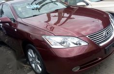 Used red 2007 Lexus ES automatic for sale at price ₦3,300,000