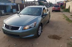 Selling green 2008 Honda Accord sedan in good condition