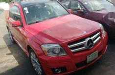 Mercedes-Benz GLK-Class 2009 Red