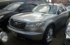 Grey 2007 Infiniti FX suv automatic for sale in Lagos