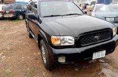 Black 2002 Nissan Pathfinder suv /automatic for sale in Abuja