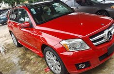 Sell well kept red 2011 Mercedes-Benz GLK-Class automatic at mileage 75,253