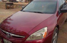 Sell well kept red 2003 Honda Accord sedan automatic in Abuja