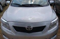 Toyota Corolla 2009 Silver color for sale