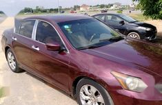 Sell used red 2008 Honda Accord sedan automatic in Abuja