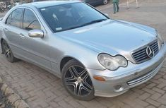Sell well kept grey  2005 Mercedes-Benz C320 automatic in Ikeja