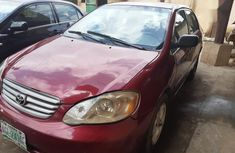 Sparkling 2003 Toyota Corolla automatic in good condition at price ₦1,200,000