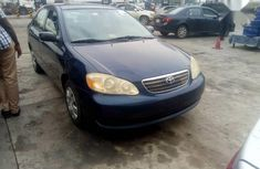 Sell well kept blue 2007 Toyota Corolla automatic at price ₦1,900,000