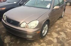 Used gold 1999 Lexus GS for sale at price ₦1,600,000 in Lagos