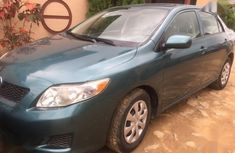 Toyota Corolla 2009 Green color for sale